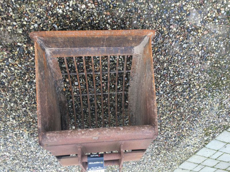 Risteskovl til Minigraver / Grating bucket for Mini excavator. - 1