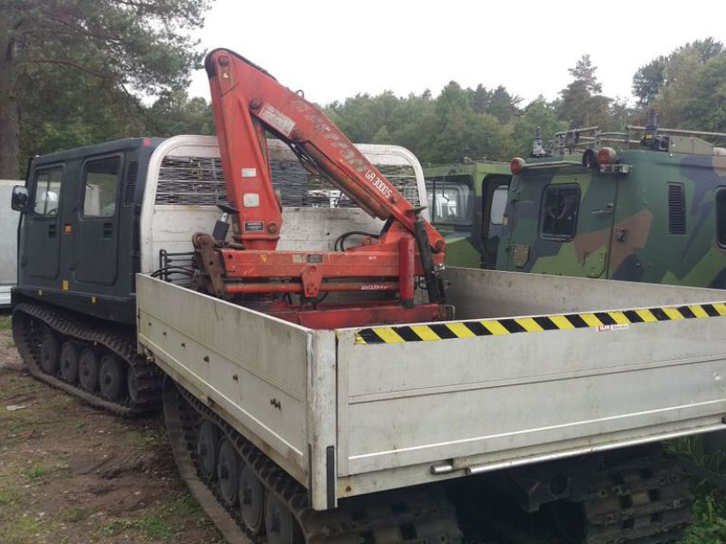 Häglunds BV206 with crane Ferrary - 4