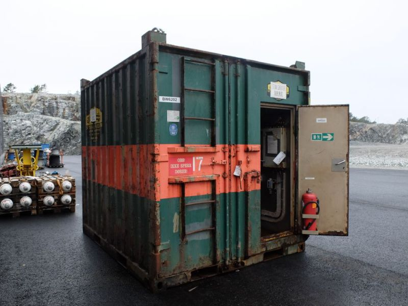 Steamgenerator container - 0