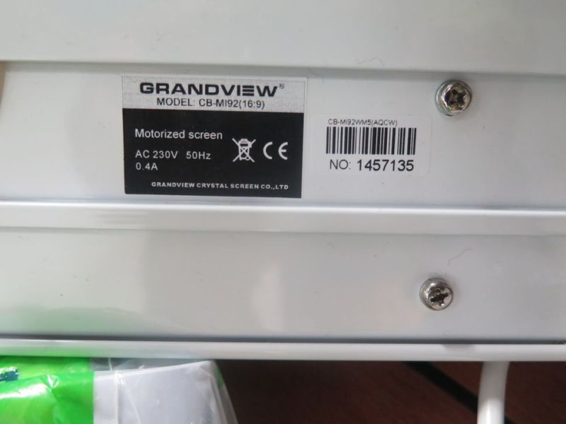 Projektor lerret Grandview / motorized Grandview screen  - 0