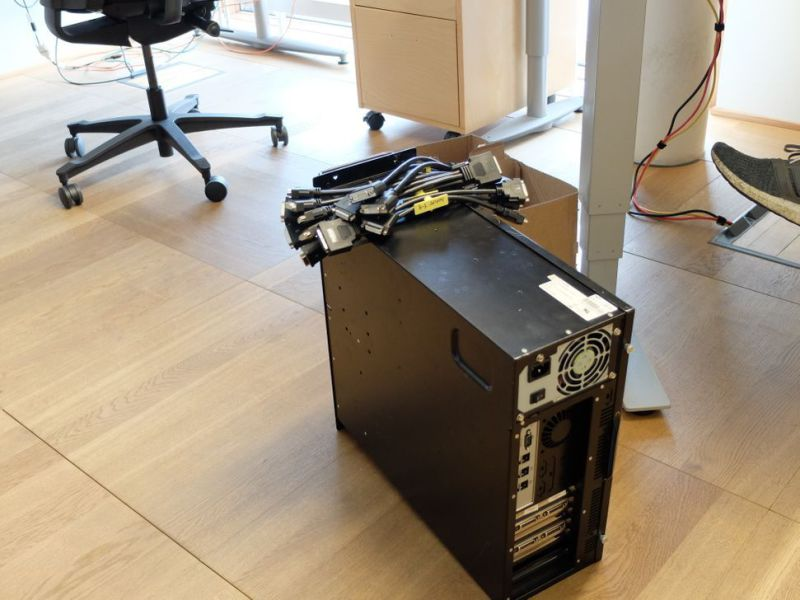 Matrox Videomatrise / PC for videovegg-løsning./ Computer Video Wall Solutions - 6