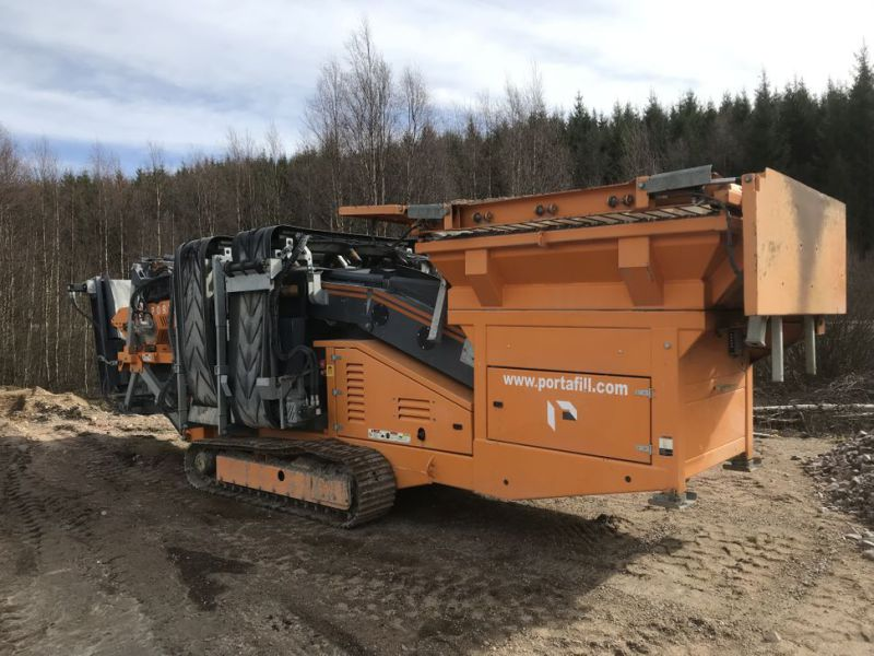 Portafill 3000 ST sorterverk / Portable screeing plant wash - 0