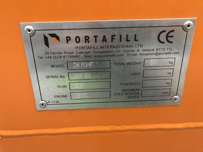Portafill 3000 ST sorterverk / Portable screeing plant wash - 4