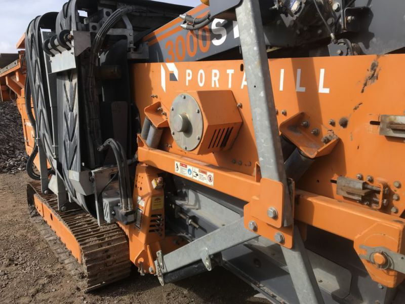 Portafill 3000 ST sorterverk / Portable screeing plant wash - 47