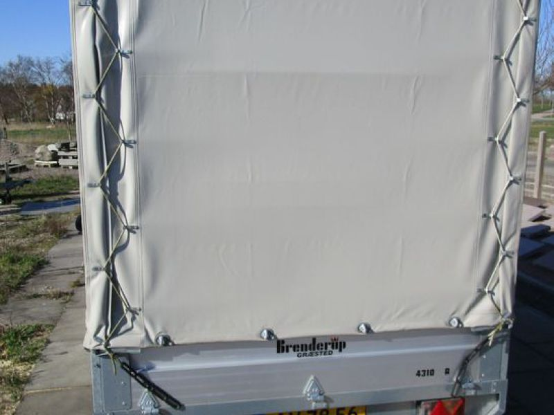 Brenderup / Thule lukket trailer / closed trailer - 3