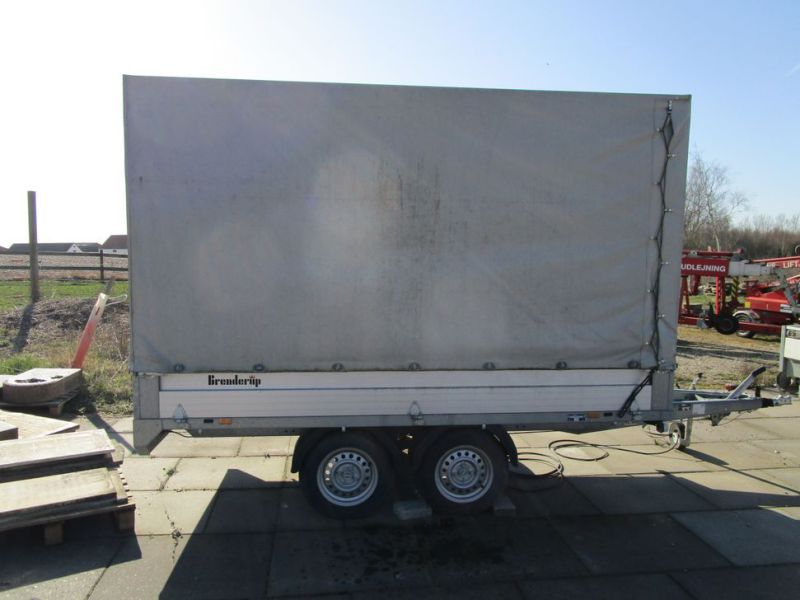 Brenderup / Thule lukket trailer / closed trailer - 0