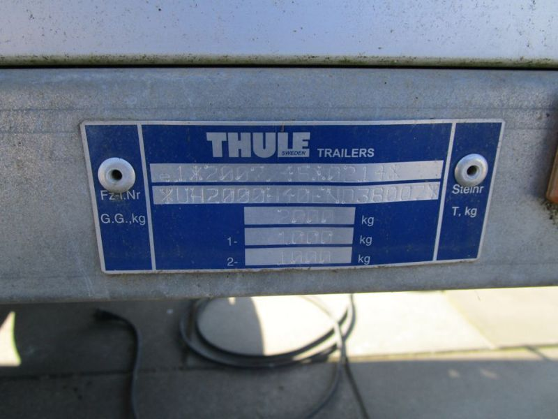 Brenderup / Thule lukket trailer / closed trailer - 5