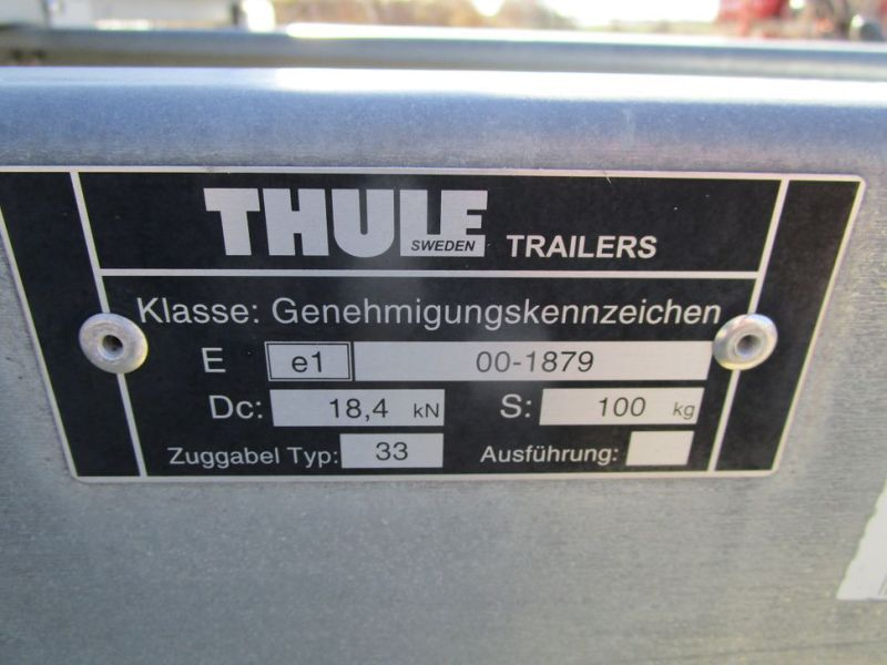 Brenderup / Thule lukket trailer / closed trailer - 6