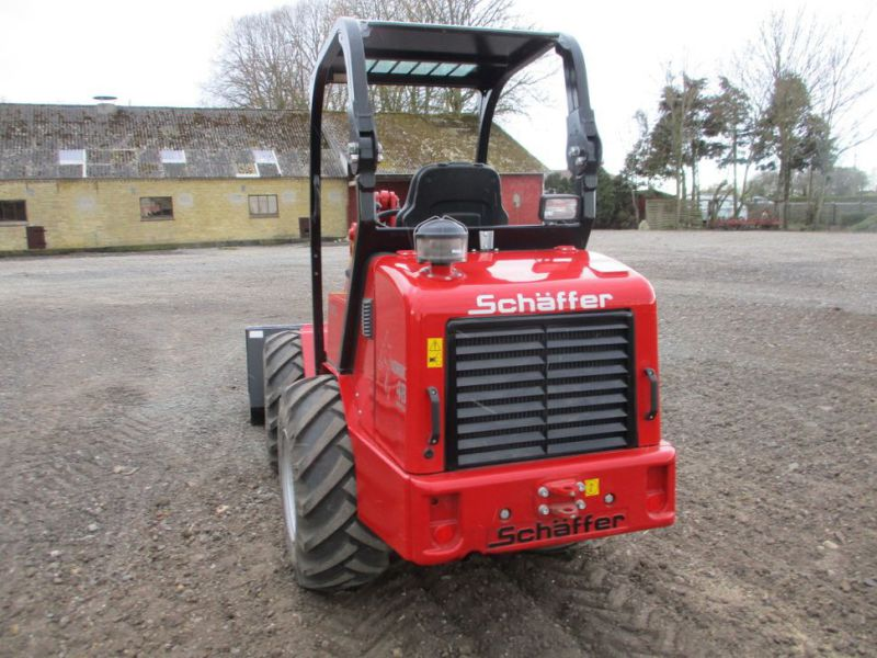 NY Schäffer Nordic 48 DC Minilæsser med 2 redskaber  / NEW Mini loader with 2 tools - 3