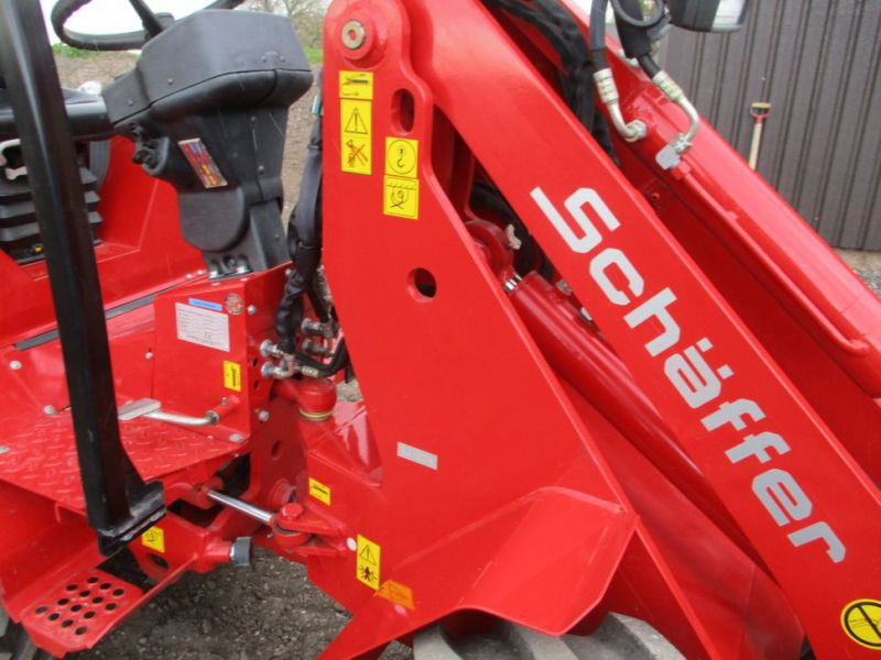 NY Schäffer Nordic 48 DC Minilæsser med 2 redskaber  / NEW Mini loader with 2 tools - 7