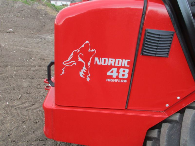 NY Schäffer Nordic 48 DC Minilæsser med 2 redskaber  / NEW Mini loader with 2 tools - 13