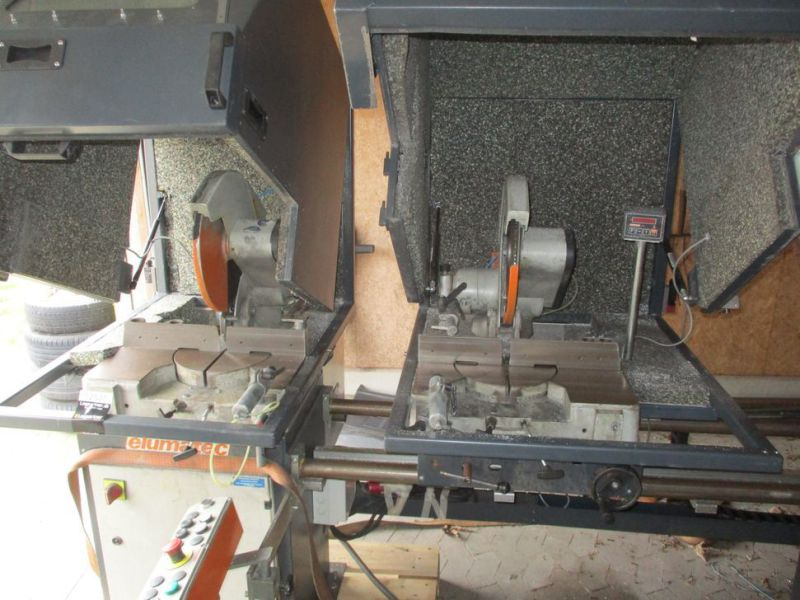 Elumatic DG 79/32 Afkorter Dobbelt / Mitre saw double - 13
