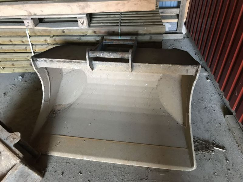 Planerskopa Encon 500l S45 fäste / Planer bucket Encon 500l S45 bracket - 0