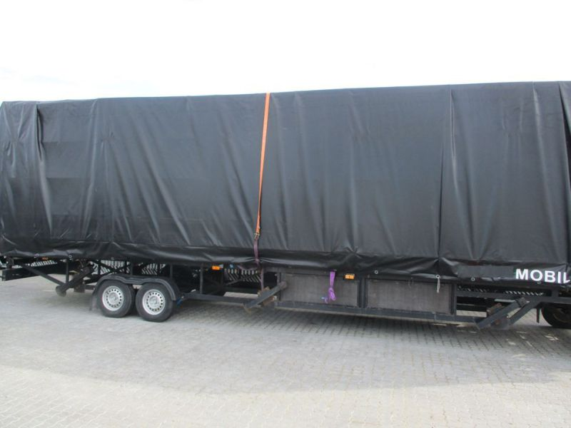 MOBILTRIBUNETAILER MED 130 SÆDER. / MOBILE STAND TRAILER WITH 130 SEATS - 39