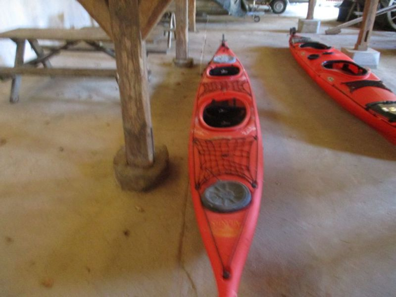 5 stk. 2-mands havkajakker / 5 pcs. Two-man sea kayaks  - 2
