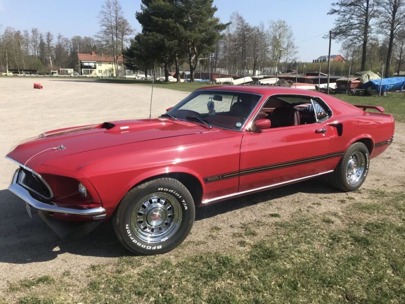 FORD MUSTANG MACH 1 - 3