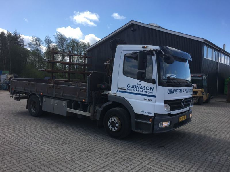 Mercedes Benz Atego 1218 med kran / Lorry with crane - 3