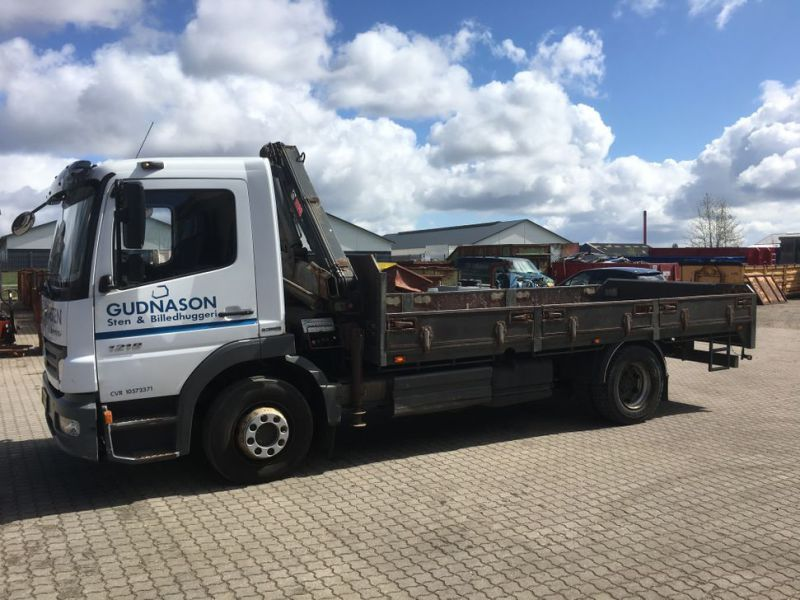 Mercedes Benz Atego 1218 med kran / Lorry with crane - 38