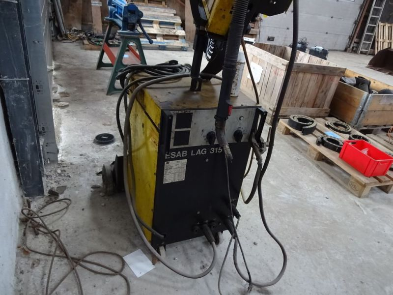 Esab LAG 315 CO2 svejseværk / welding machine      - 0