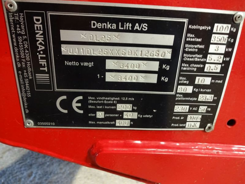Trailerlift Denka DL 25 / Lift - 3