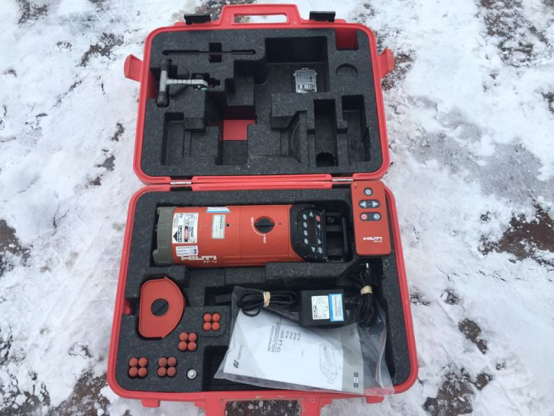 Optical laser leveler HILTI PP 10 with box - 2