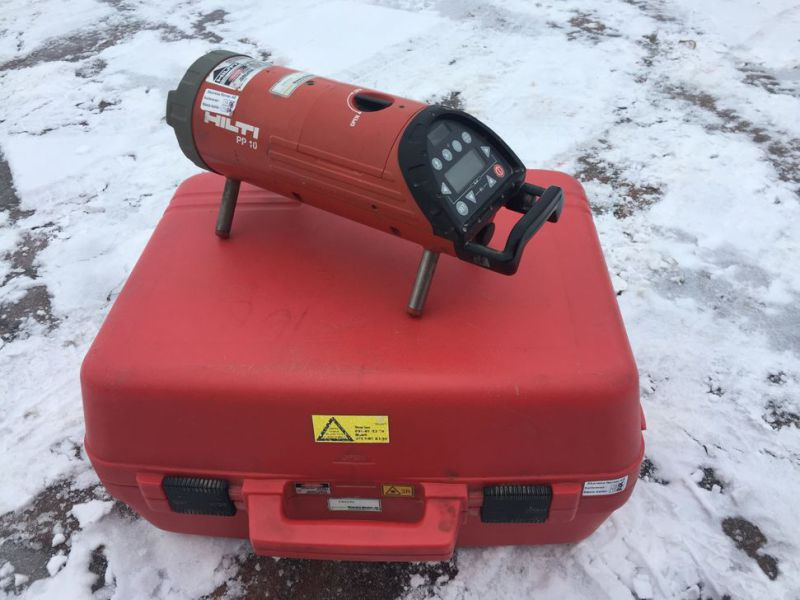 Optical laser leveler HILTI PP 10 with box - 3