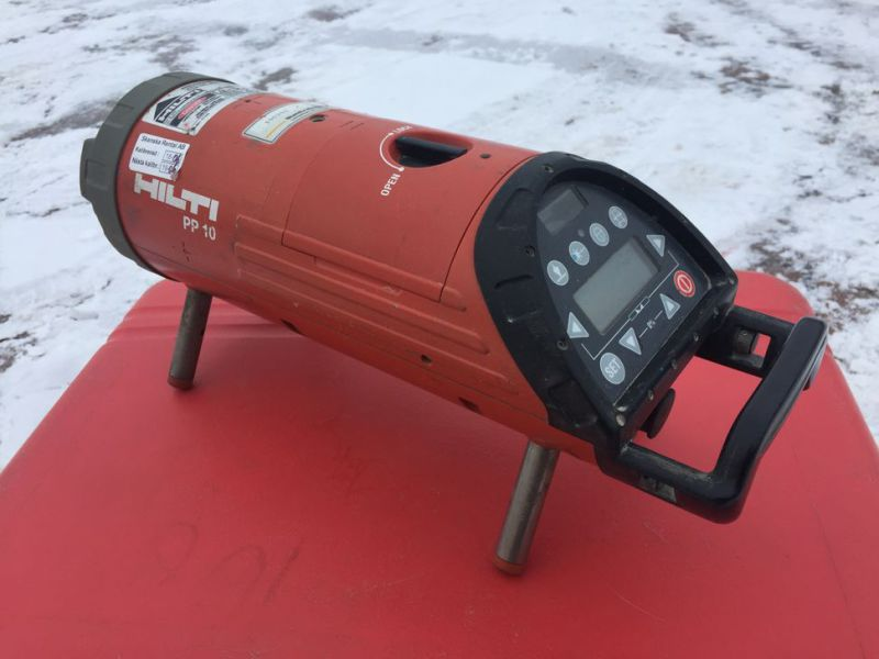 Optical laser leveler HILTI PP 10 with box - 4