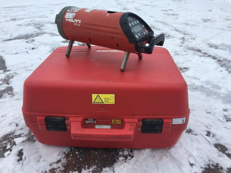 Optical laser leveler HILTI PP 10 with box - 5