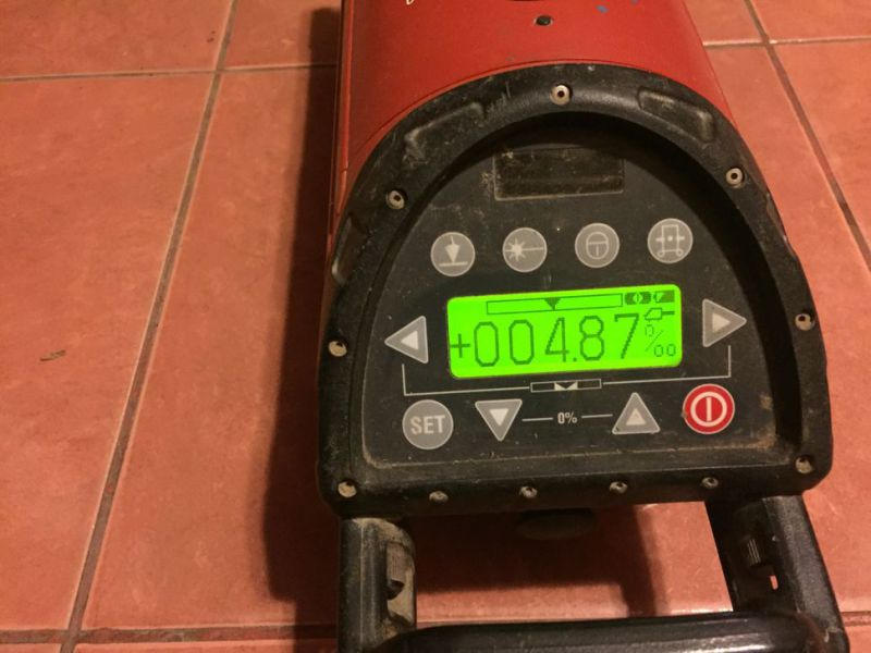 Optical laser leveler HILTI PP 10 without box and charger - 1