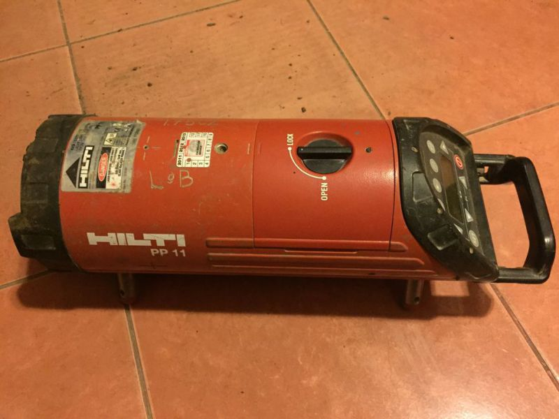 Optical laser leveler HILTI PP 10 without box and charger - 2