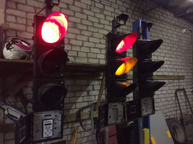 Mobile intelligent traffic lights P. B. P Brghaus model Mpb4400 - 0