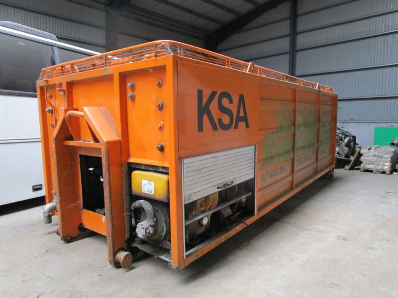 KSA Mobil slam afvander på hejslad / Mobile sludge dewatering on hoist - 19