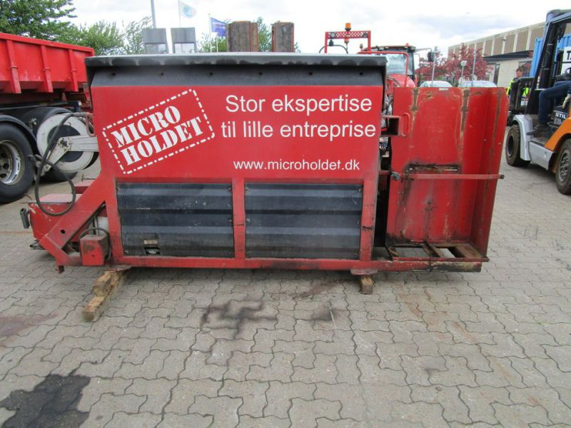 ATC asfalt kasse med 2 kasser og snegle (DI1658) / asphalt box with 2 boxes and augers (DI1658) - 0