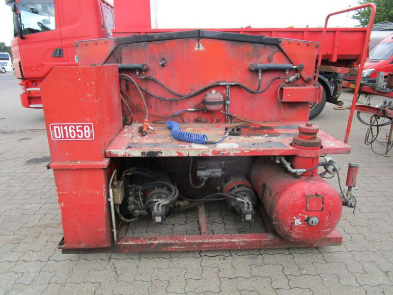 ATC asfalt kasse med 2 kasser og snegle (DI1658) / asphalt box with 2 boxes and augers (DI1658) - 2