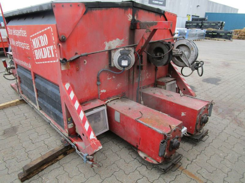 ATC asfalt kasse med 2 kasser og snegle (DI1658) / asphalt box with 2 boxes and augers (DI1658) - 7