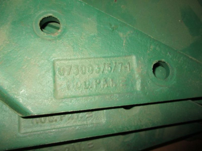 Sliddele til Kverneland plov / Wear parts for Kverneland plough. - 7