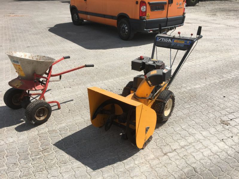 Stiga sneslynge og salt spreder / snow blower and salt spreader - 3