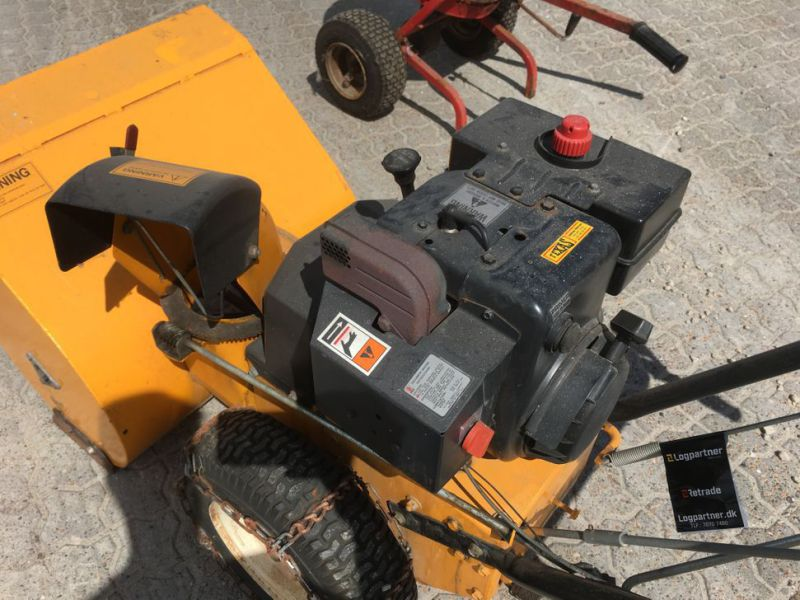 Stiga sneslynge og salt spreder / snow blower and salt spreader - 6