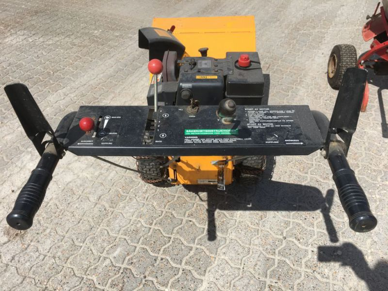 Stiga sneslynge og salt spreder / snow blower and salt spreader - 7