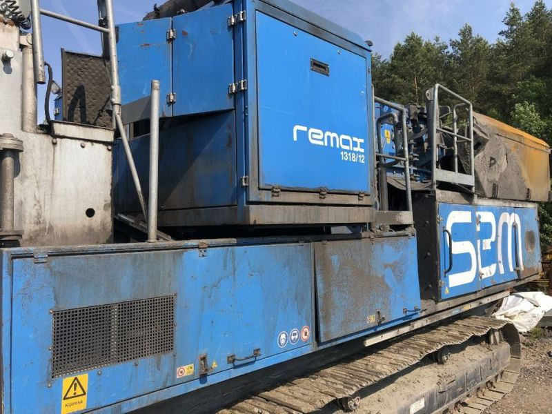 SBM Remax 1318 Asfalt och Betongkross  Asphalt and/Concrete Crusher - 19