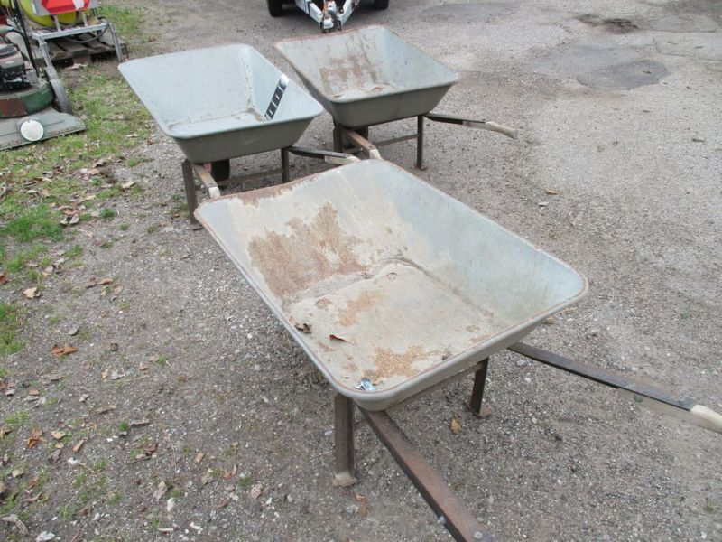 3 Stk. trillebøre / 3 Pcs. wheelbarrows. - 2