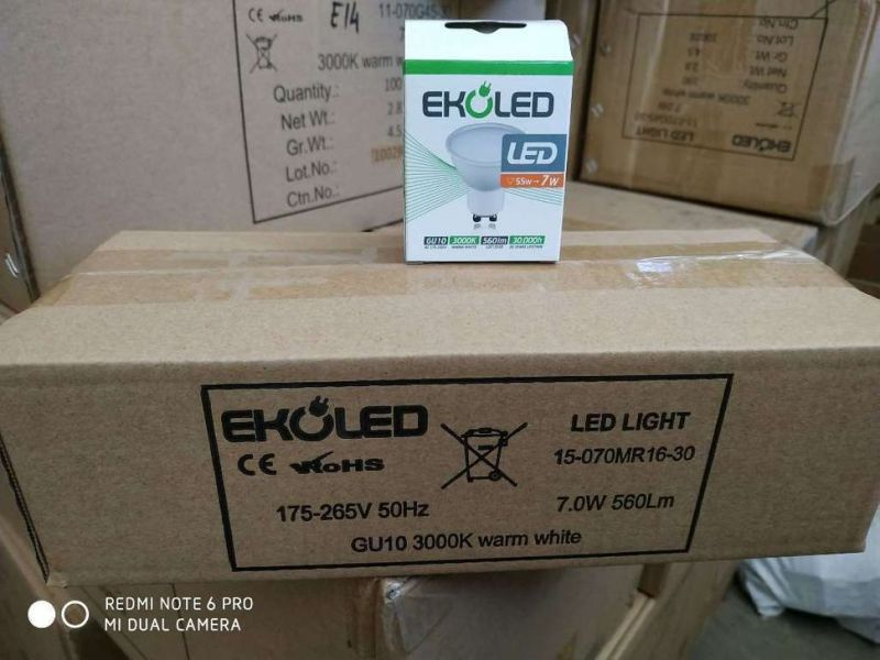GU10 LED spot light 7W 560Lm - 0