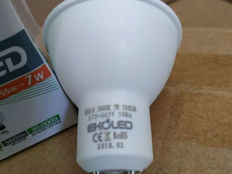 GU10 LED spot light 7W 560Lm - 1