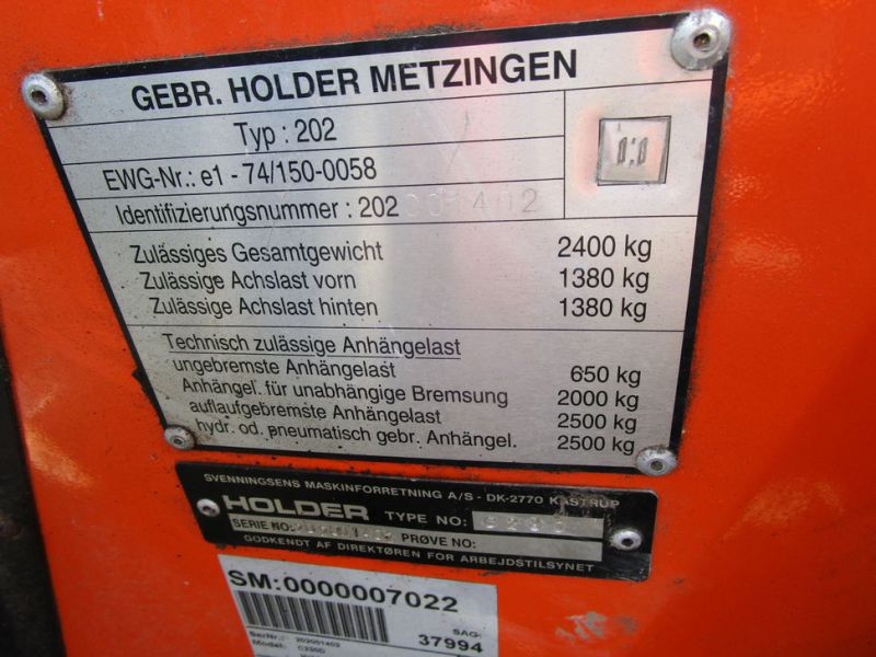 Holder C230 Redskabsbærer / tool carrier  - 13
