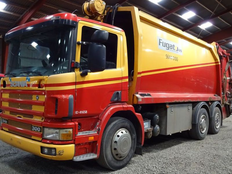 Scania 6X2 EBS renovation lastvogn / renovation truck - 2