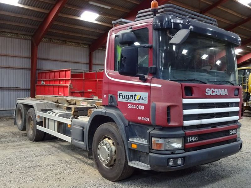 Scania 6X2-Z lastvogn med wirehejs / truck with wire hoist - 2