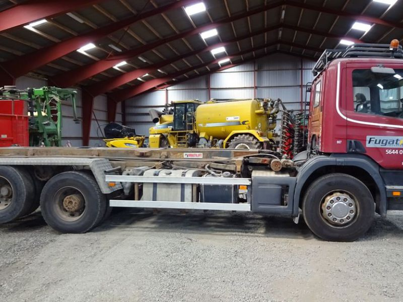 Scania 6X2-Z lastvogn med wirehejs / truck with wire hoist - 3