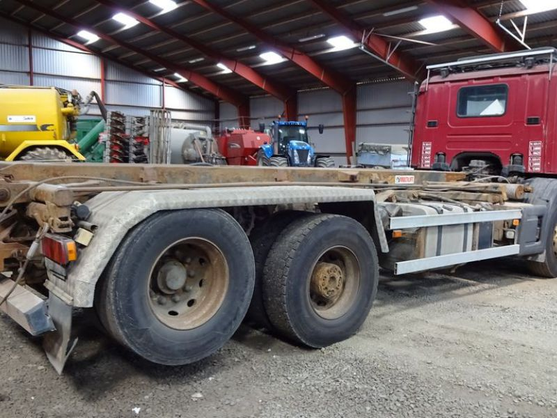 Scania 6X2-Z lastvogn med wirehejs / truck with wire hoist - 4