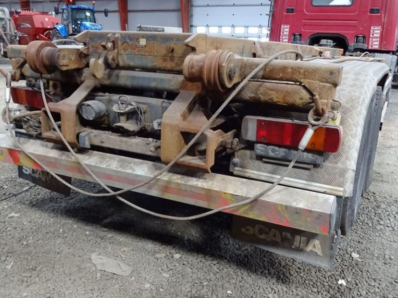 Scania 6X2-Z lastvogn med wirehejs / truck with wire hoist - 5