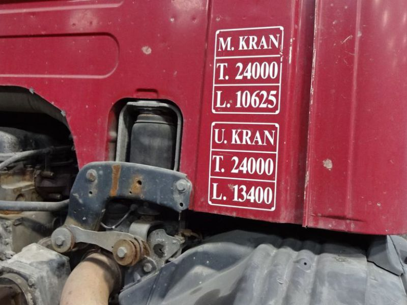 Scania 6X2-Z lastvogn med wirehejs / truck with wire hoist - 15